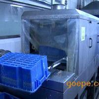 周转筐塑料箱清洗机 配件箱清洗机 热水高压洗筐机