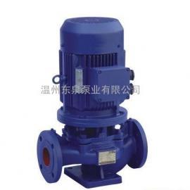 ISG立式管道泵,立式管道循环泵,立式清水泵