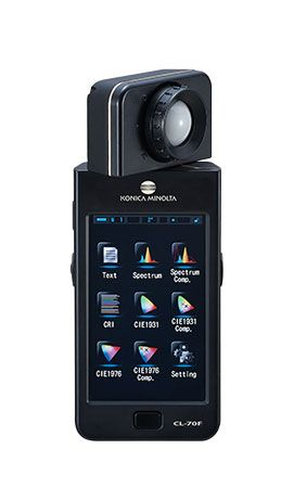 柯尼卡美能达CL-70F(高精度)显色照度仪