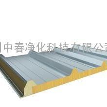 超效防火岩棉机制板 高品质岩棉彩钢板 防火保温岩棉夹芯板