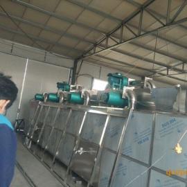 脱水蔬菜包菜片多节网带式干燥机、瓜子带式烘干线 带式干燥机