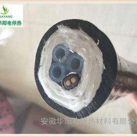 华阳生产烟气脱硫CEMS一体化伴热管线伴热复合采样管