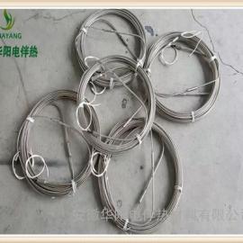 华阳生产MI矿物绝缘铠装加热丝/不锈钢加热电缆MI伴热电缆