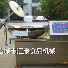 千叶豆腐鱼豆腐斩拌机 多种型号变频调速斩拌机价格