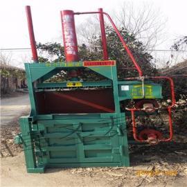 立式液压废品打包机/饲草打包机型号规格