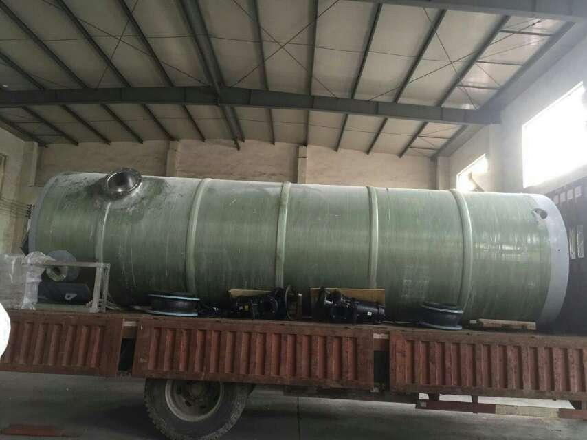 河南郑州地埋式污水提升泵站