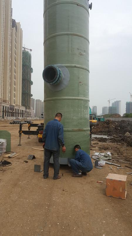 河南地埋式一体化污水提升泵站