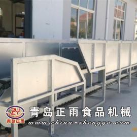 青岛正雨直供活猪活挂机,机架采用方管制作,热镀锌
