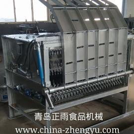 青岛正雨新型羊YBM-3液压式打毛机,机架热镀锌外壳不锈钢