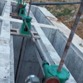 贵州贵阳生产销售QL双吊点25T手电两用螺杆启闭机厂家