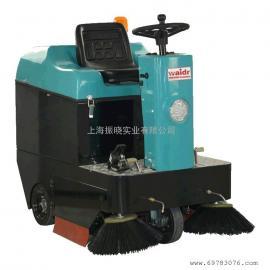 威德尔WX-1050小型驾驶室扫地机电瓶驱动扫地机