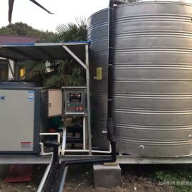 空气能热泵热水系统安装