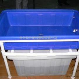 供应农场专用鱼草共生桶纺织专用布草车元宝箱