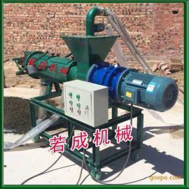 贵州鸡粪脱水机 鹌鹑粪便脱水机 不锈钢粪便固液分离机