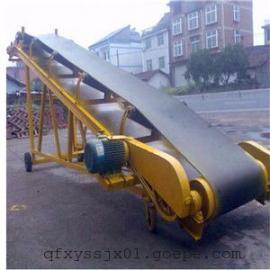 烟草行业*皮带输送机 伸缩式上货装车机 可移动升降爬坡机