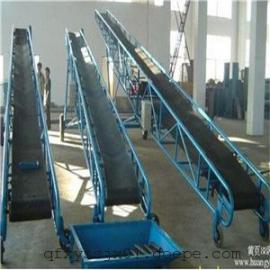 升降移动式输送机厂家,挡板式散料传送机,大豆防滑皮带机