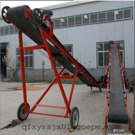 莱芜流水线专用皮带机 四滚筒移动式传送机 高效率输送机定做厂家