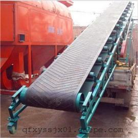 电动升降圆管输送机 斜坡皮带输送机价格 厂家供应圆管输送机