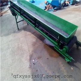 槽钢材质皮带机 装卸常用带式输送机 固定高度的移动输送机
