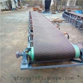 圆管移动输送机加工- 多用途防滑皮带输送机,网带式传送带