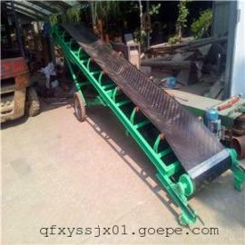 金昌小型不锈钢食品输送机 槽钢主架电滚筒皮带输送机
