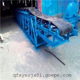 牡丹江移动式皮带输送机-农用槽型输送机,颗粒专用皮带机图片