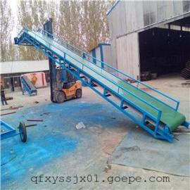 V型槽粮食装车皮带机 圆管式10米传送带 江苏省带式输送机