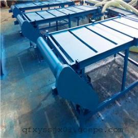 粉末皮带输送机厂家|直销移动皮带机价格|兴运槽钢支架输送机