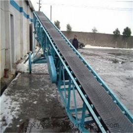 移动式粮食装车专用 稻谷槽型传送带 固定式皮带输送机厂家定做