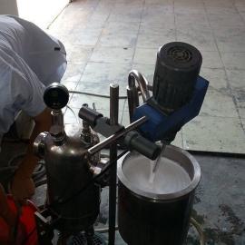 氧化铝隔膜分散机,氧化铝浆料高速分散机