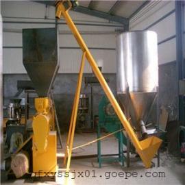 粉料螺旋输送机价格 加工定制螺旋送料机 全不锈钢螺旋提升机