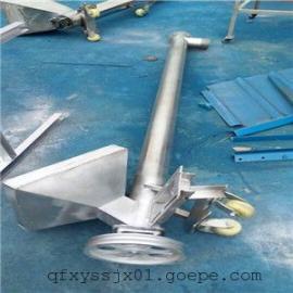 304不锈钢螺旋上料机,兴运加工垂直绞龙提升机,碳钢材质