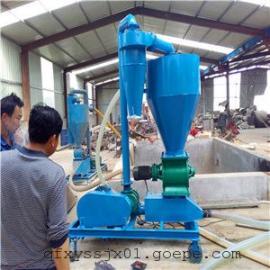 山西地区用气力吸粮机-管道式风力吸料机,带除尘装置输送机