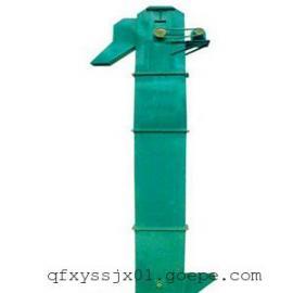 胶带式多斗上料斗提机 水稻用斗式装仓机 塑料颗粒翻斗式上料机