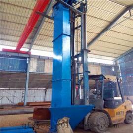 带式塑料斗提升机厂家直销 福建省长乐市8米高焊接挖斗上料机