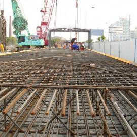 厂家直销混凝土带肋钢筋网 哈尔滨楼顶钢筋焊接网