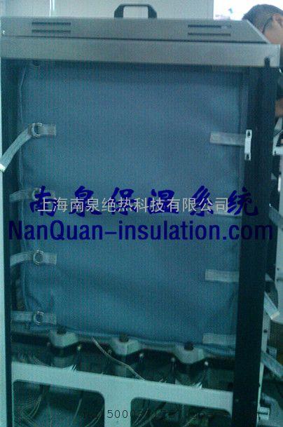 膨化机防烫保温罩食品膨化机可拆卸式隔热保温被