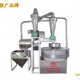 石磨磨面机设备 小型小麦石磨面粉机-山东德州电动石磨厂家