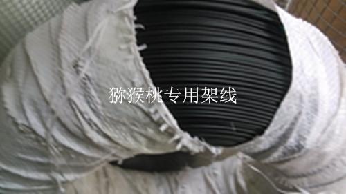 四川猕猴桃架线 钢丝架线 包塑架线 钢丝架线 镀锌钢丝