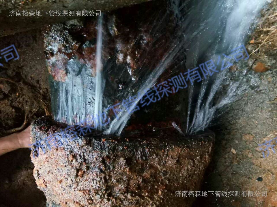漏水检测|漏水探测|给水管道漏水|济南榕森管线探测公司