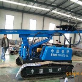*生产多功能打桩机 光伏打岩机 一机多用打桩机