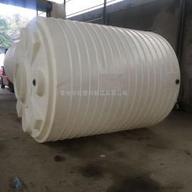 成都10吨抗氧化雨水收集桶环保软水箱塑料水槽一次成型