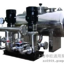 WFGW20/84-2C不锈钢无负压变频调速给水设备