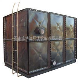 供水�C房搪瓷�板水箱 不�P�水箱 玻璃�水箱