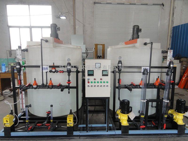 循环水全自动加药系统 缓蚀阻垢剂加药装置