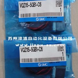SMC电磁阀,VQZ115-5GB1-C6