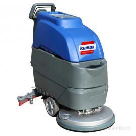 环氧地面洗地机,清洗环氧地坪用全自动洗地机