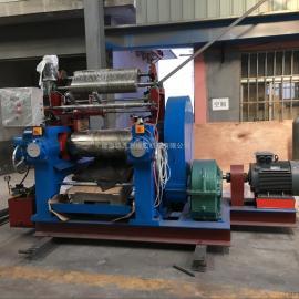 小型带翻胶装置开炼机,12寸橡胶全自动开炼机,300青岛开炼机