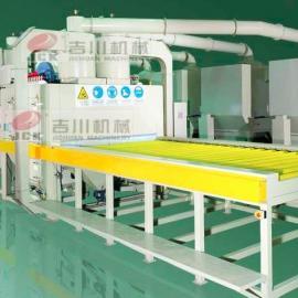 吉川牌SS系列输送式自动喷砂机木板专用
