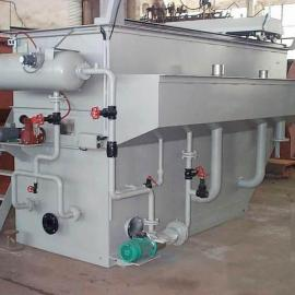 塑料制品加工废水处理专业设备溶气气浮机 处理效果看的见 欢迎来